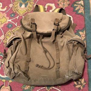 Vintage GAP Utility Military Cargo Backpack Bag